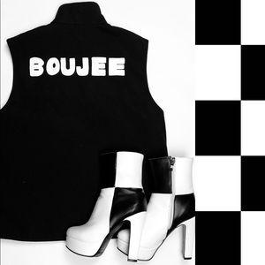 BOUJEE custom graphic vest